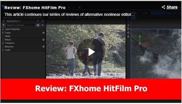 FXHome HitFilm Pro Hands On Review