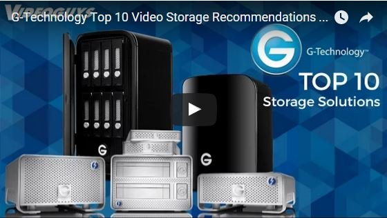 Video Review of Top 10 G-Technology Storage Solutions