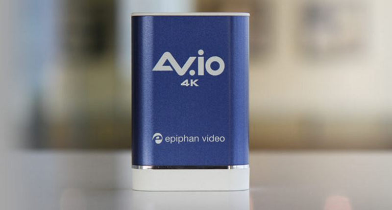 Epiphan AV.io 4K: 4K HDMI Ingest is Here