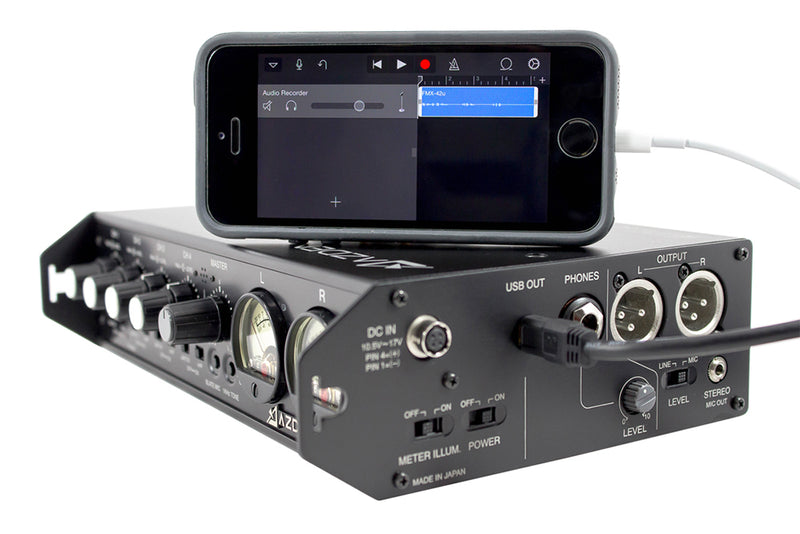 New at NAB: Azden Releases Their First Portable Mixer With Digital USB Output