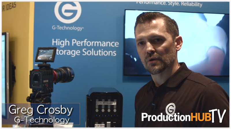 Watch how the G-Tech Evolution Series is Evolving Storage Workflows