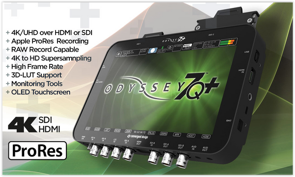 Big News from Convergent Design! Odyssey7Q+ Now Includes 256GB SSD