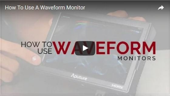 Video on How to Use a Waveform Monitor
