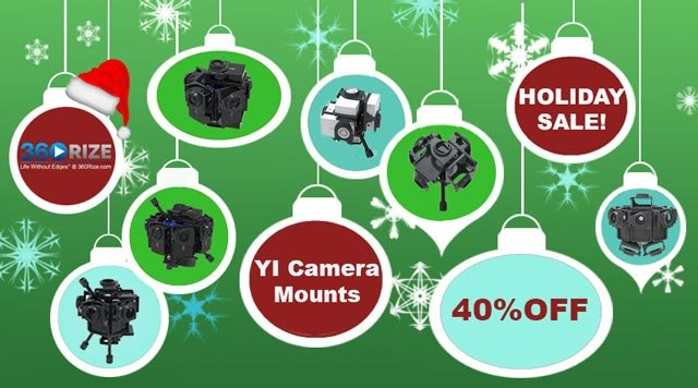 360Rize VR  & 360 Video Gear On Sale Now!
