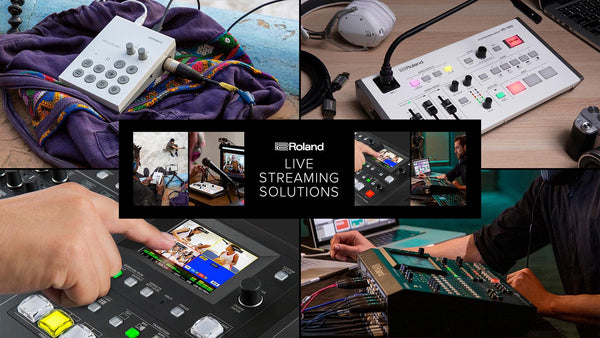 Here's What you Need to Know to get Started Live Streaming with Roland Mixers