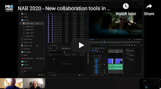 Adobe Premiere Pro and the New Productions Workflow