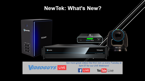 NewTek: What's New?