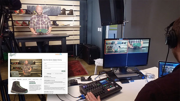 Roland VR-4HD User Story Online Video Platform BrandLive