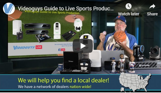 Videoguys Guide to Live Sports Production