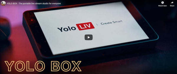 YoloBox Delivers Portable Live Streaming For Everyone