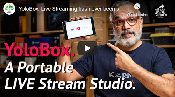 Yolobox All-In-One Easy Live Streaming from Anywhere