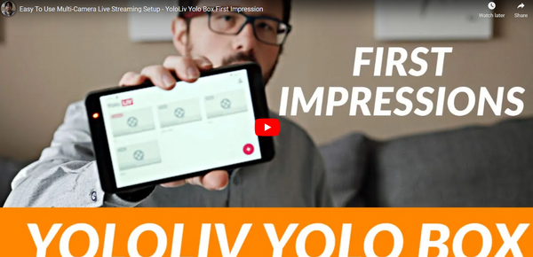 Yolobox Easy To Use Multi-Camera Live Streaming