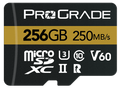 ProGrade Digital 256GB MicroSDXC UHS-II Memory Card w/adapter - 60