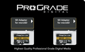 ProGrade Digital 64GB MicroSDXC UHS-II Memory Card w/adapter - 60, 2-Pack