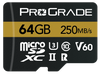 ProGrade Digital 64GB MicroSDXC UHS-II Memory Card w/adapter - 60
