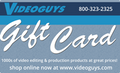 Videoguys $25 Gift Card