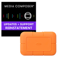 Avid Media Composer Reinstatement and Lacie Rugged SSD 500GB Bundle