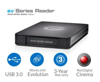 G-Technology Red Mini Mag ev Series Reader