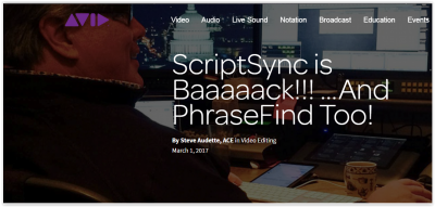 scriptsync and phrasefind are back