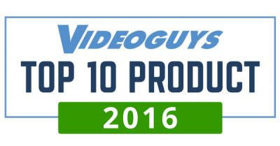Videoguys Top 10 Product 2016