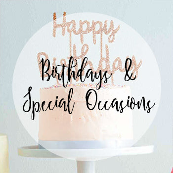 Happy Birthday & Special Occasion Cake Toppers