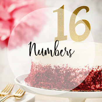 Number Cake Toppers