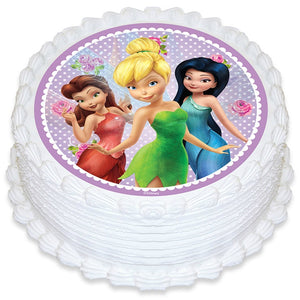 Disney Fairies Edible Cake Image