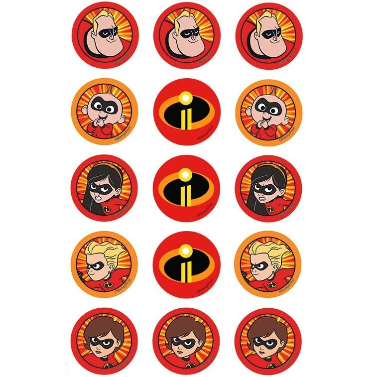 The Incredibles Cupcake Images