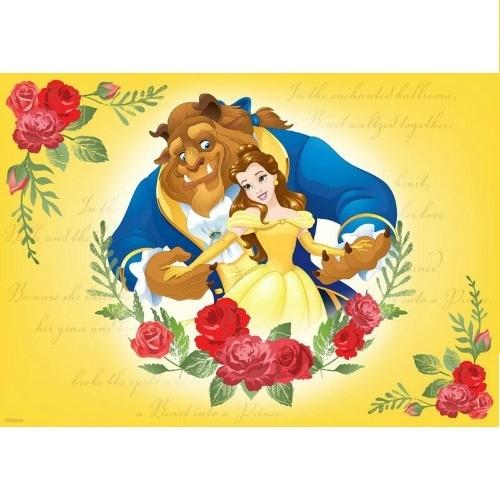 Beauty & the Beast Edible Cake Image - A4 Size