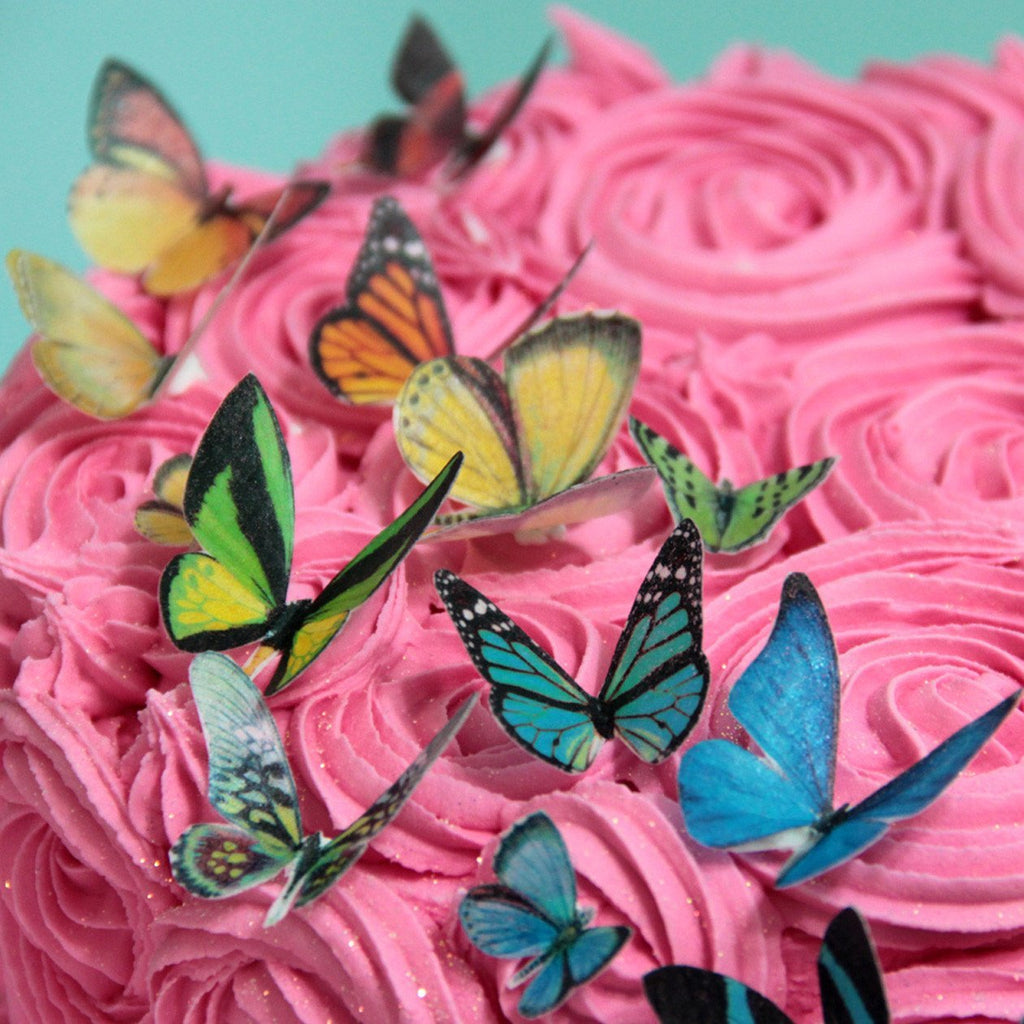 Sweet Whimsy Edible Butterfly Images