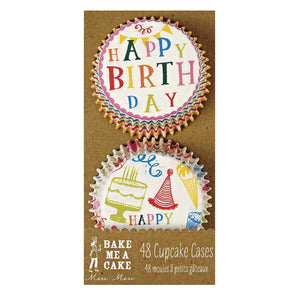 Meri Meri Happy Birthday Cupcake Cases