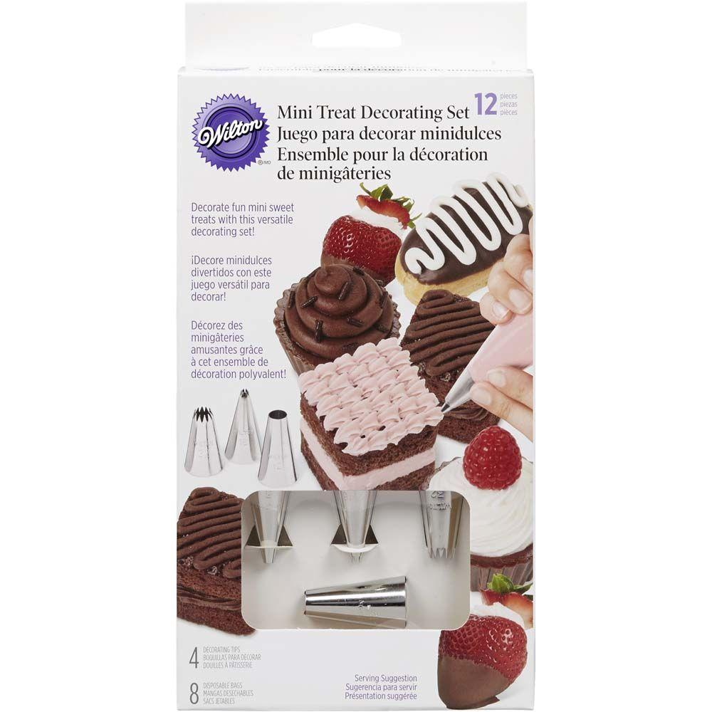 Wilton 12 Piece Mini Treat Decorating Set