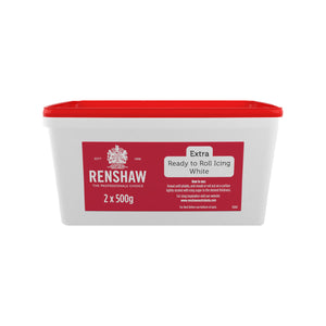 Renshaw Fondant Icing 1kg Extra Ready to Roll White