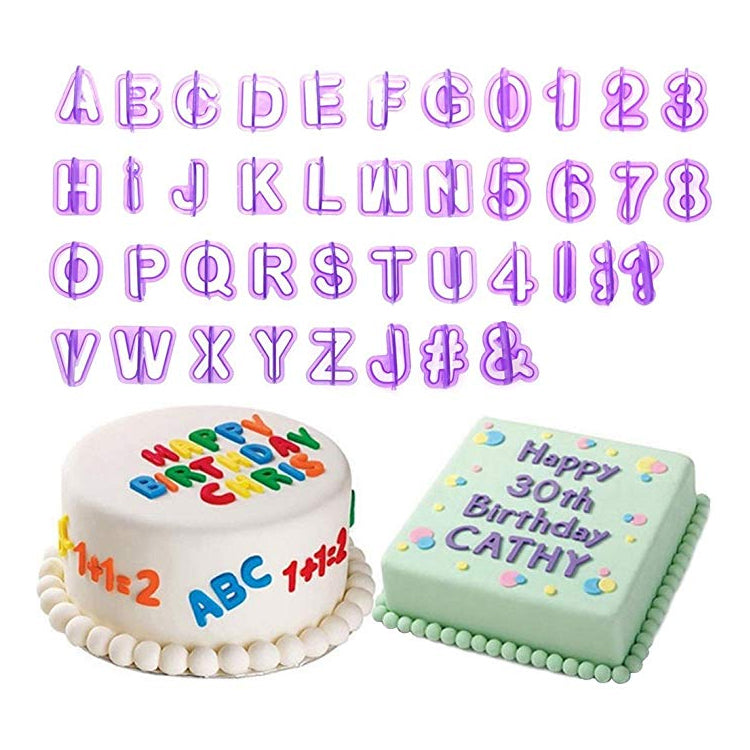 Alphabet & Number Cutters