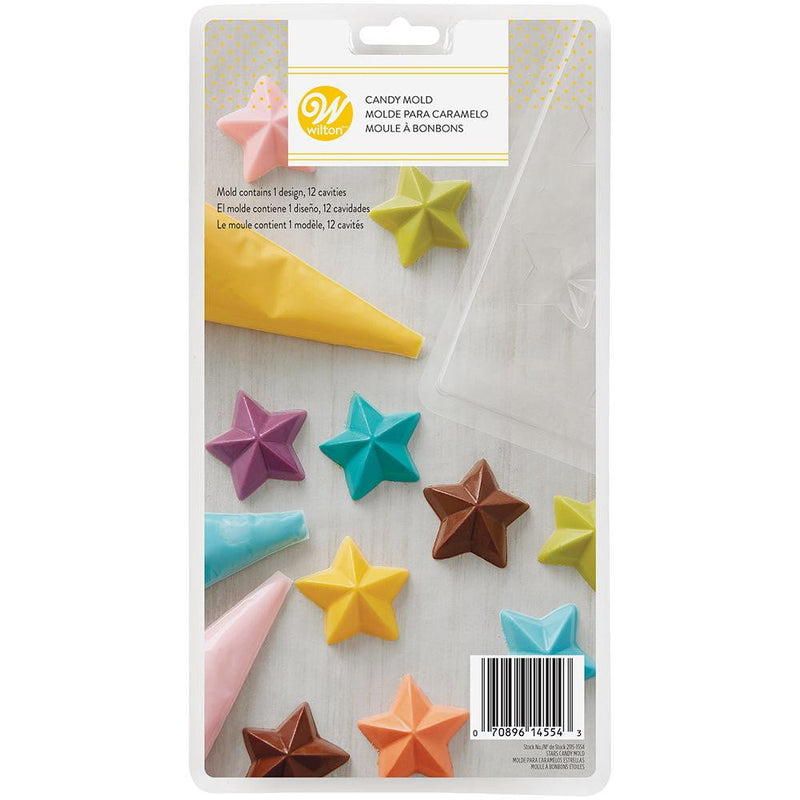 Wilton Star Candy Chocolate Moulds