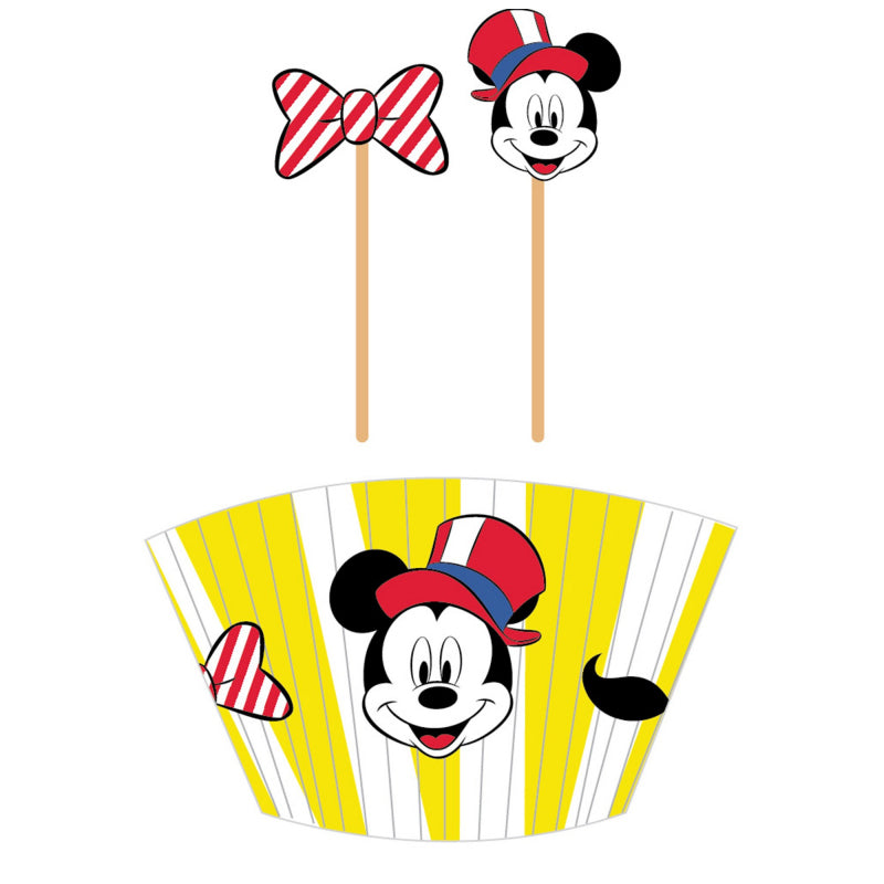 Mickey Mouse Carnival Cupcake Kit