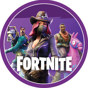 Fortnite Cake Topper | Fortnite Party Supplies