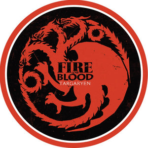 Game of Thrones Targaryen Edible Cake Topper | Game of Thrones Party