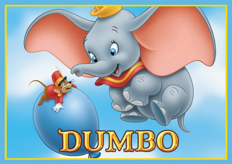 Dumbo Edible Cake Image - A4 Size