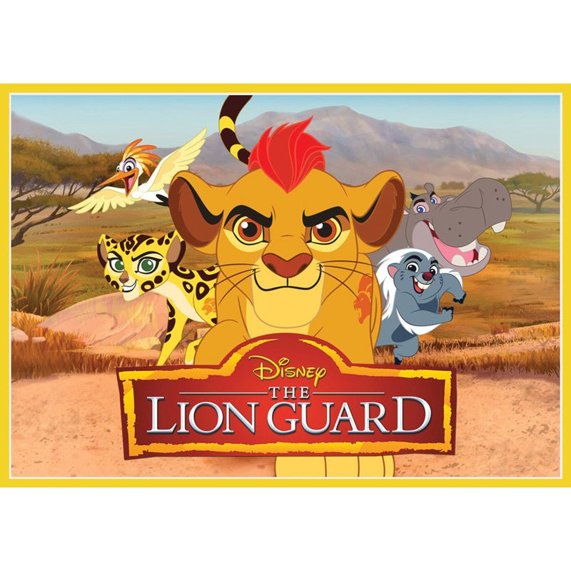 The Lion Guard Edible Cake Image - A4 Size