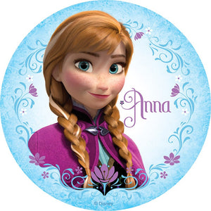 Frozen Anna Edible Cake Topper | Frozen Party Supplies