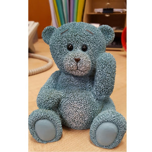Starline | Blue Teddy Bear Cake Topper | Baby Shower Party Theme & Supplies