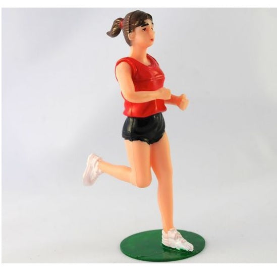 Starline | Running Girl Cake Topper | Sports Party Theme & Supplies