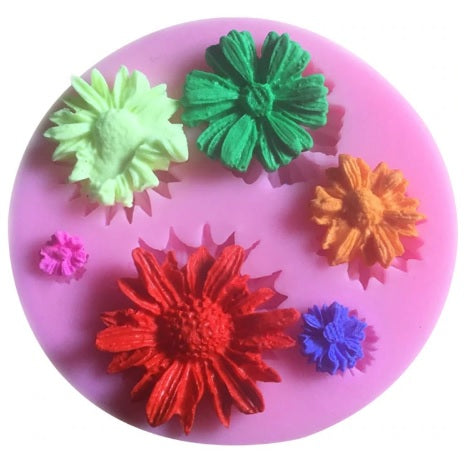 TSW Flower Silicone Mould | Garden Party Theme & Supplies