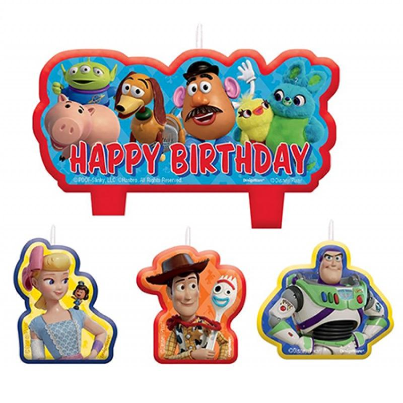Toy Story 4 Birthday Candle Set