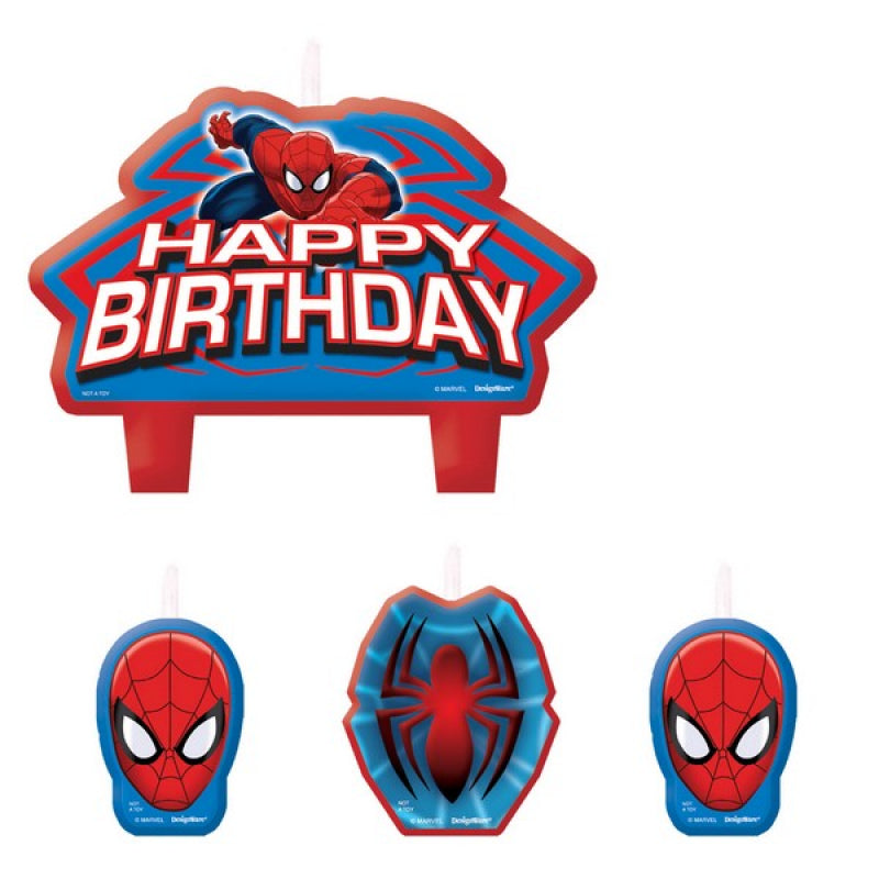 Ultimate Spiderman Candle Set