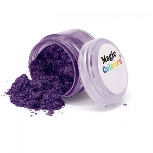 Magic Colours Lustre Dust - Purple Sheen