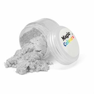 Magic Colours Lustre Dust - Pure Silver