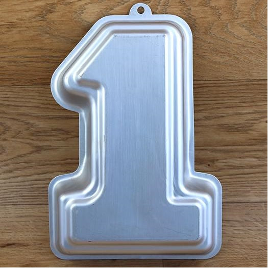Mini Number 1 Cake Tin Hire