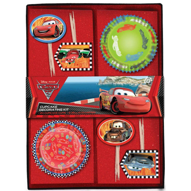 Disney Cars 2 Cupcake Decorating Kit